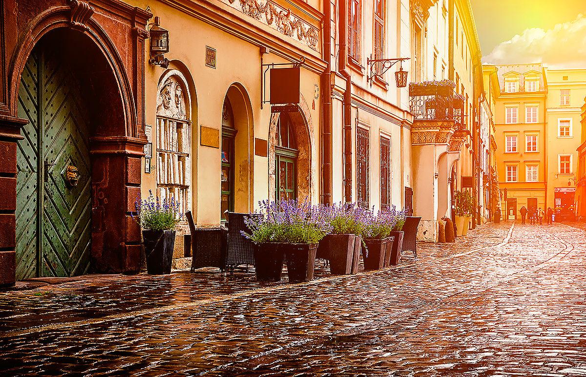 Исторический район Кракова, Польша