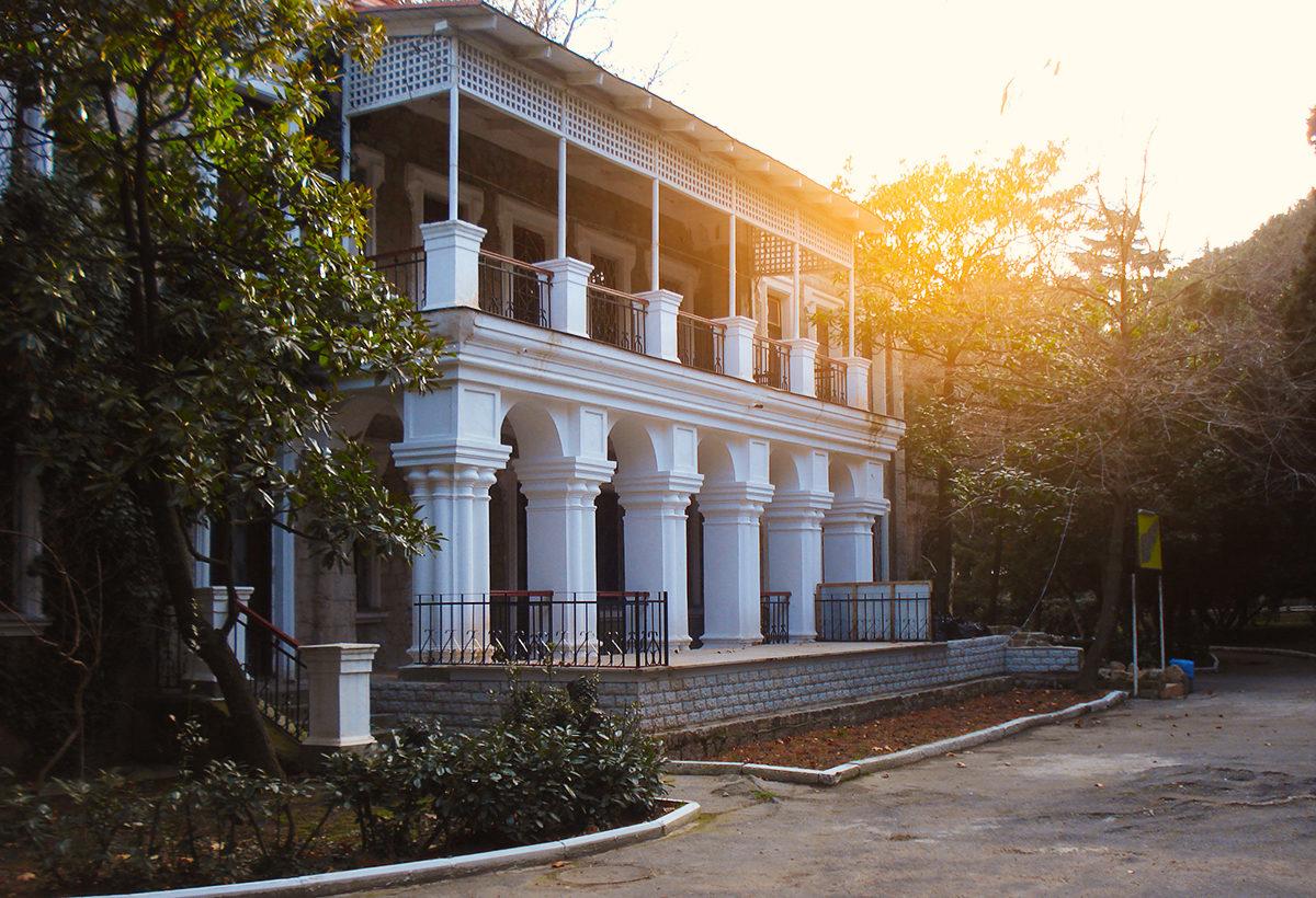 Дом купца Стахеева, Алушта