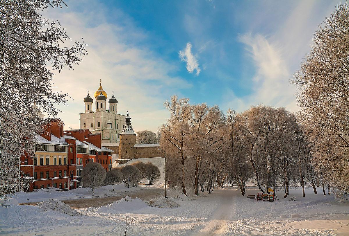 Троицкий храм, Псков