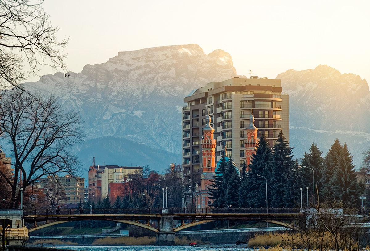 Прогулка по Владикавказу обещает быть приятной