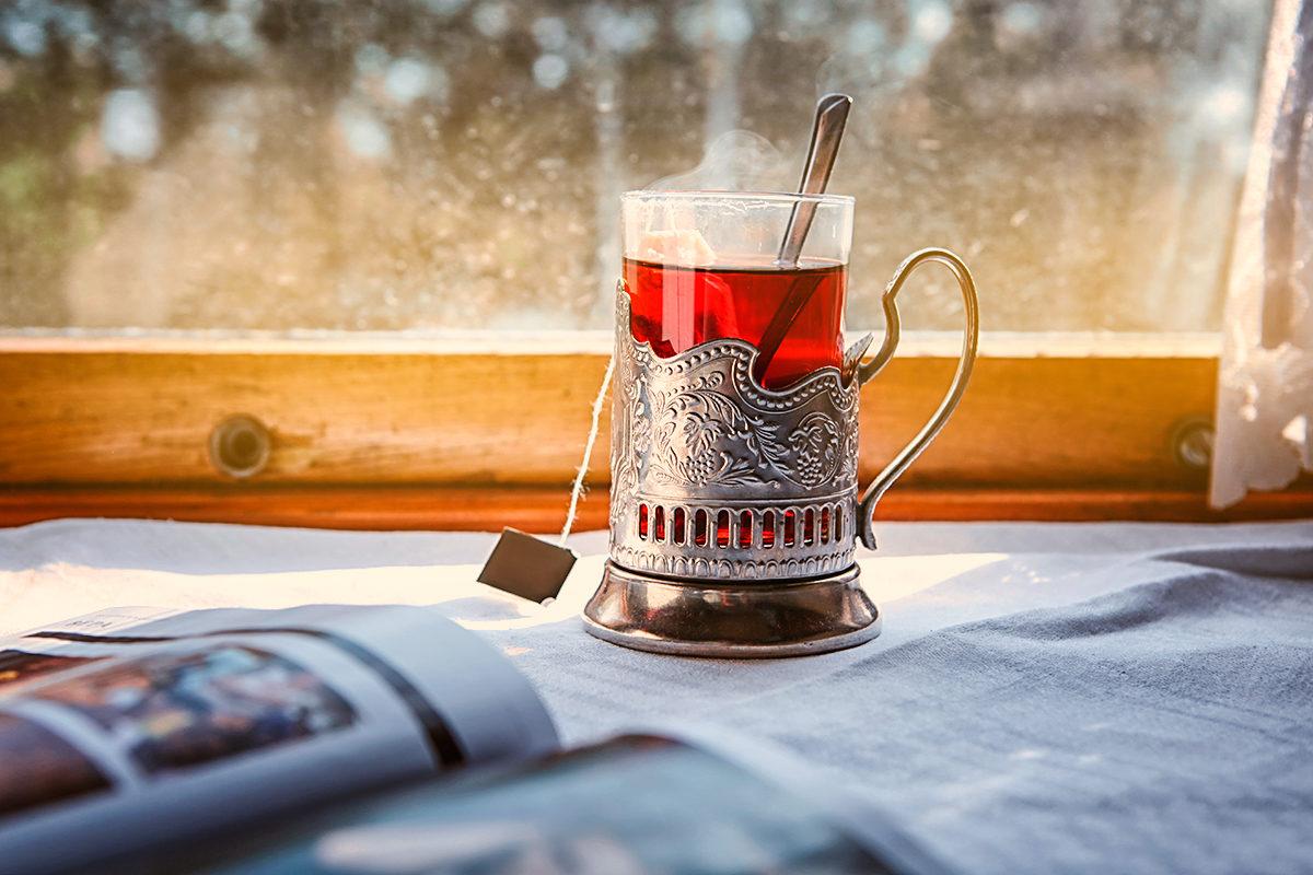 Легендарный чай в поезде России