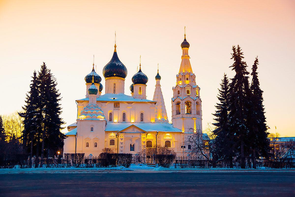 Церковное зодчество, Ярославль