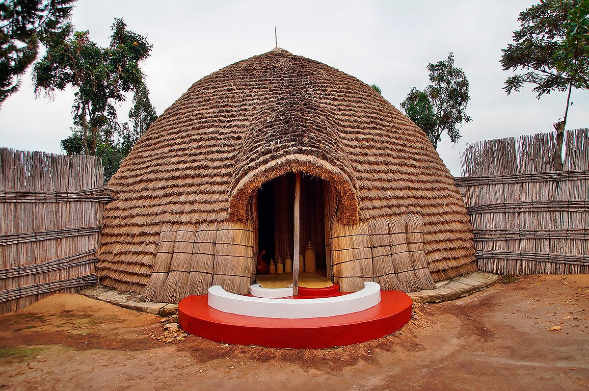 Традиционное жилье, Руанда