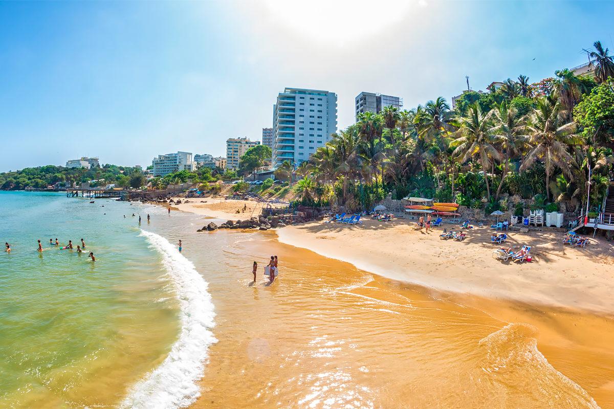 Пляжный отдых в Сенегале