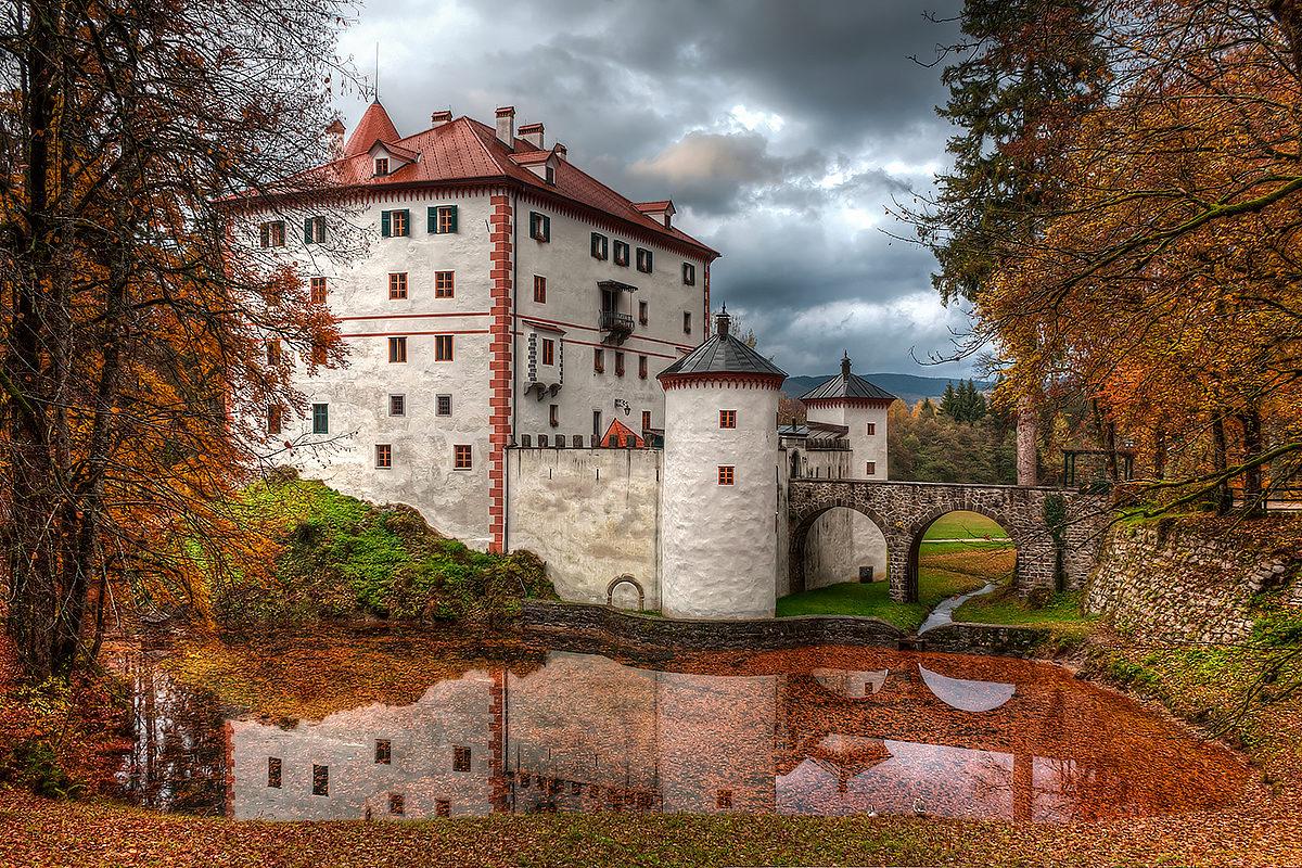 Замки Словении.