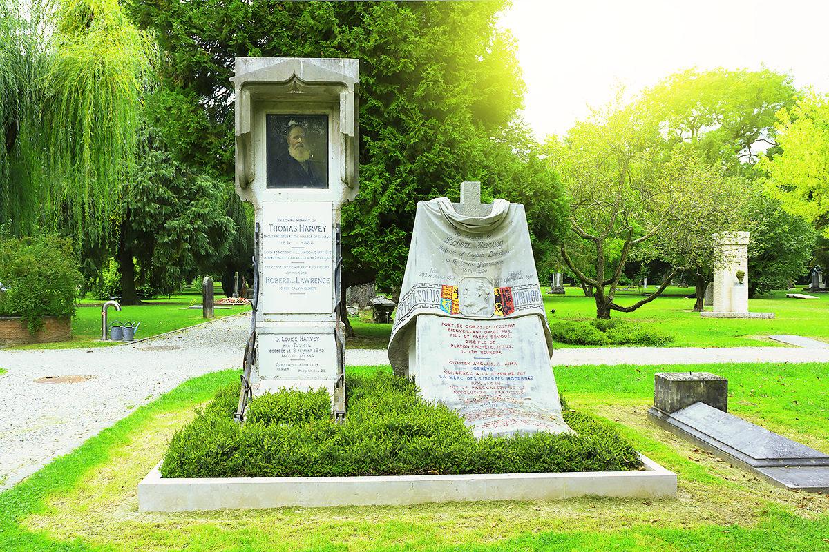 Кладбище Пленпале, Женева