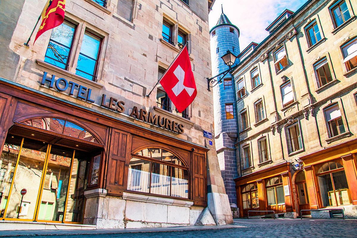 Отель Les Armures, Женева