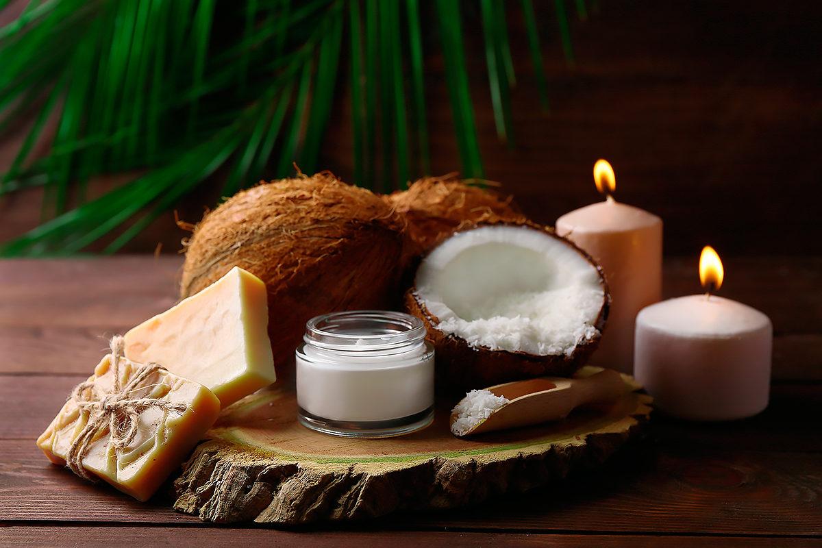 Спа-продукты из масла кокоса
