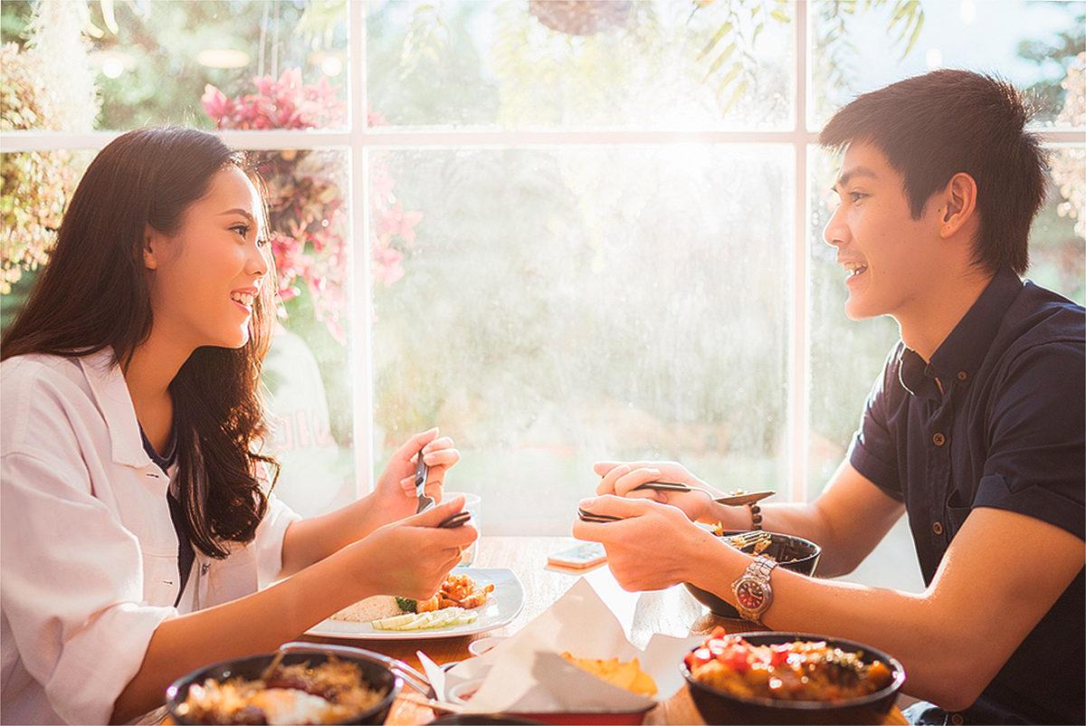 В тайском ресторанчике