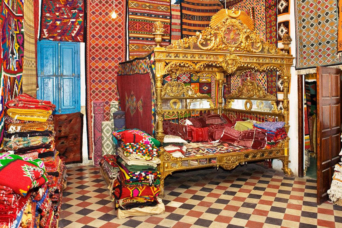 Магазин ковров, Тунис