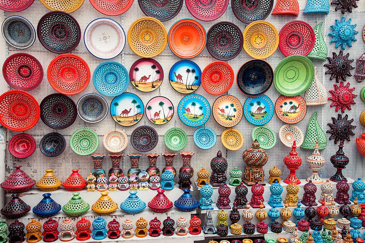 Многообразие керамики, Тунис