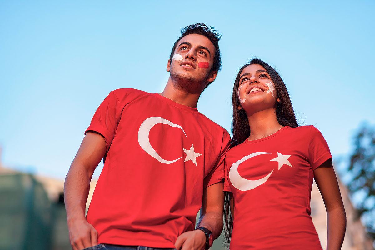 Молодые патриоты Турции