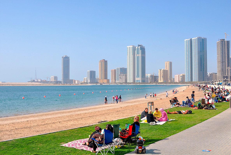 лучшие пляжи шарджи фото привлечения посетителей