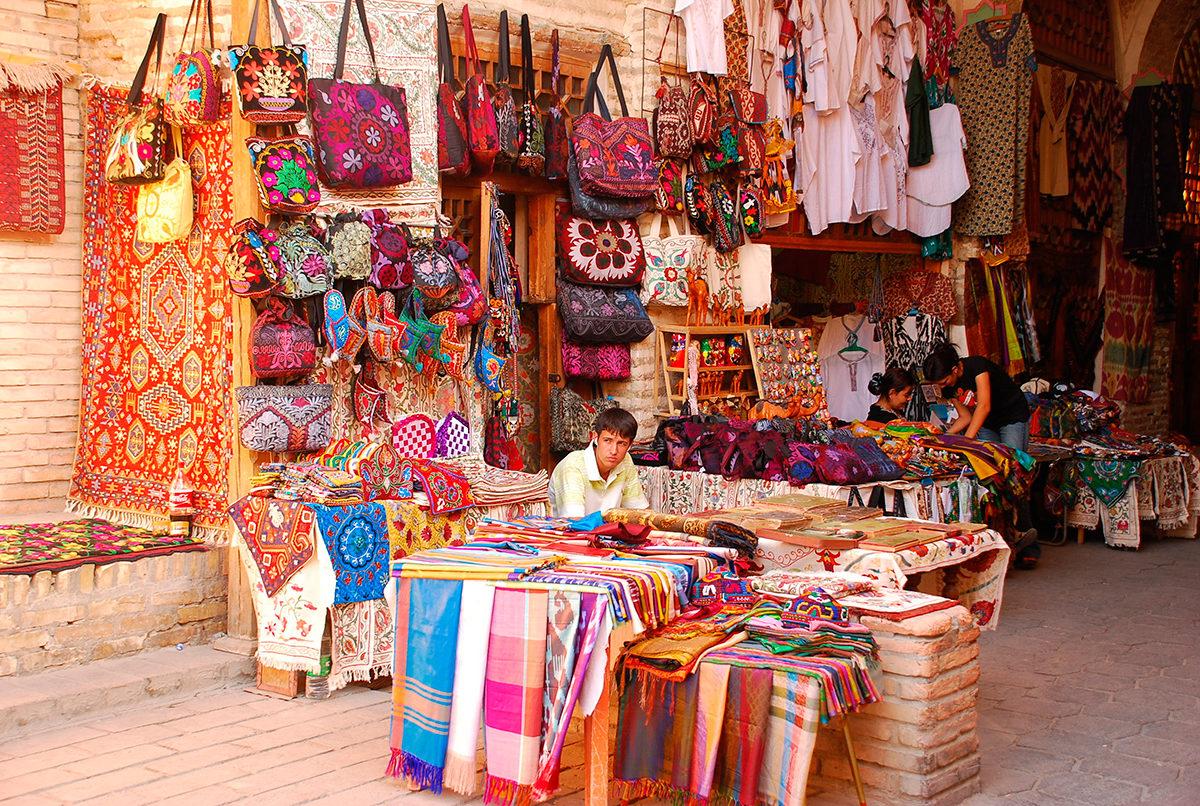 Большой выбор узбекских товаров ручной работы