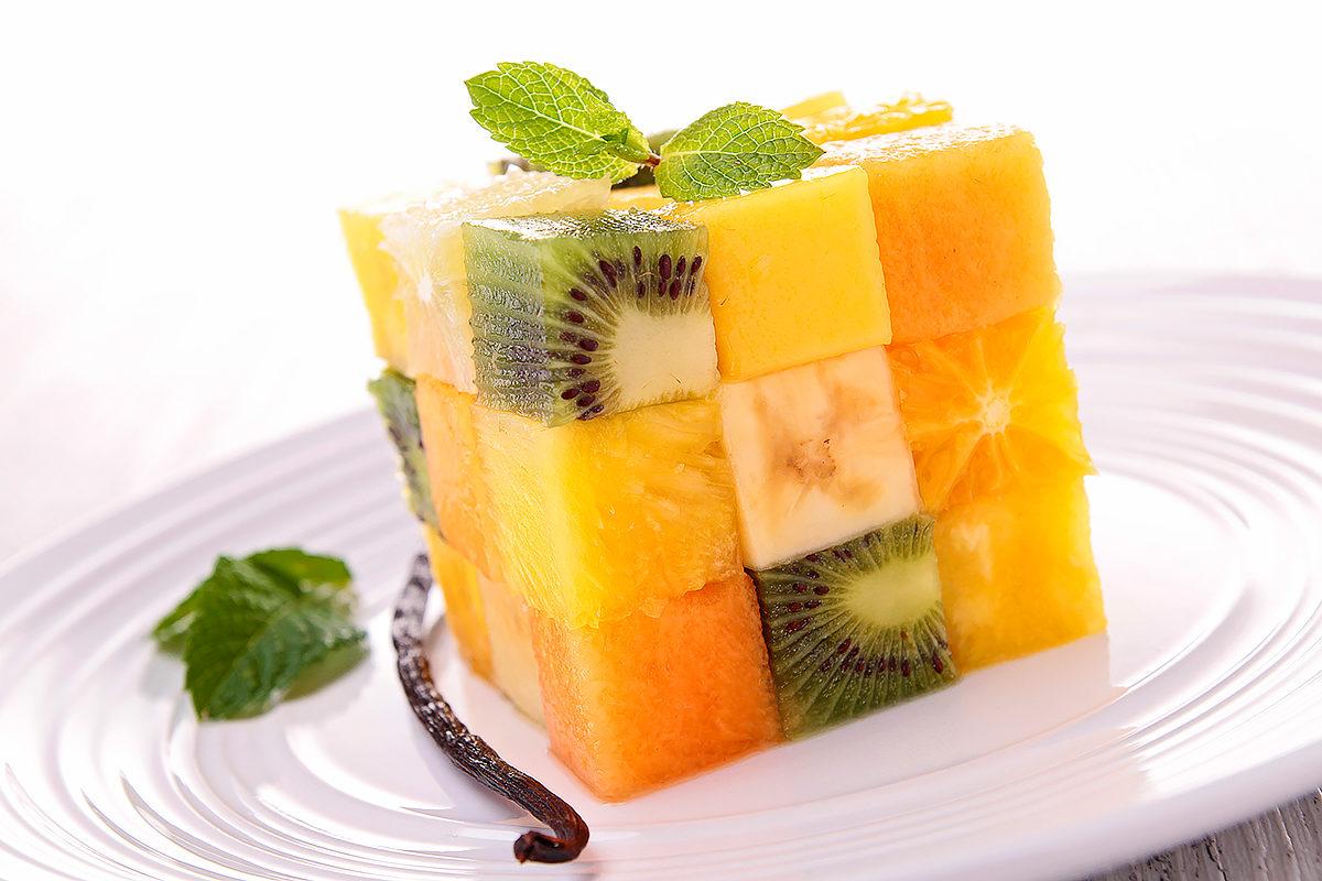 Освежающий фруктовый десерт