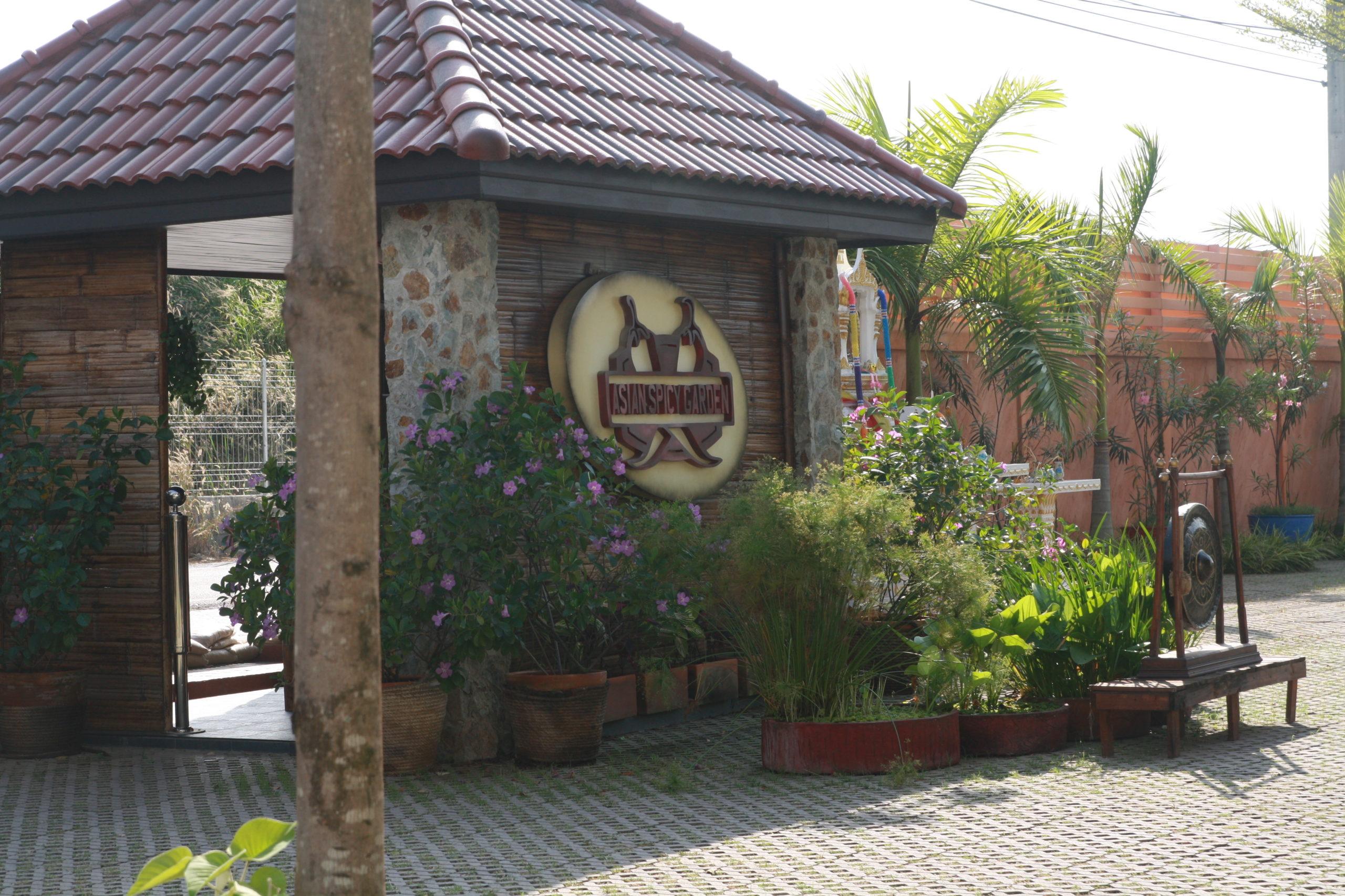 Asian spicy garden