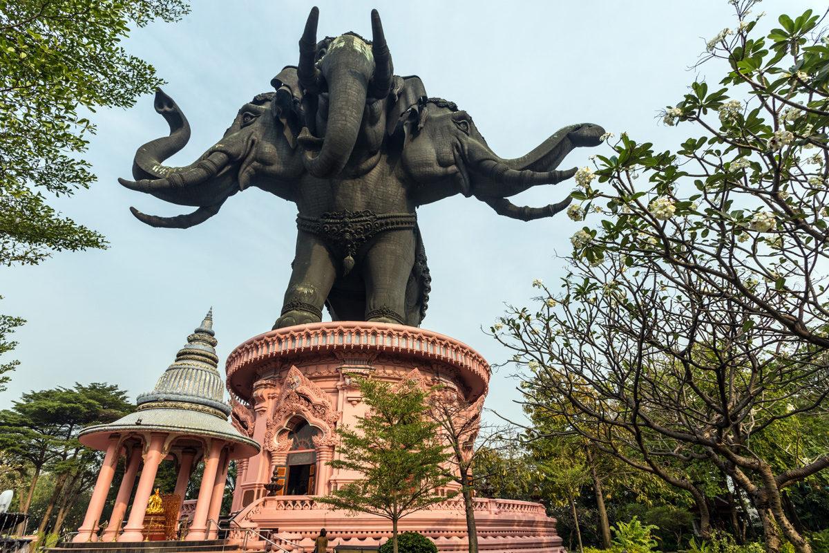 Бангкок, музей Ервана