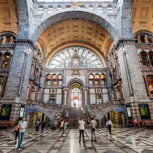 Здание вокзала Антверпен-Центральный
