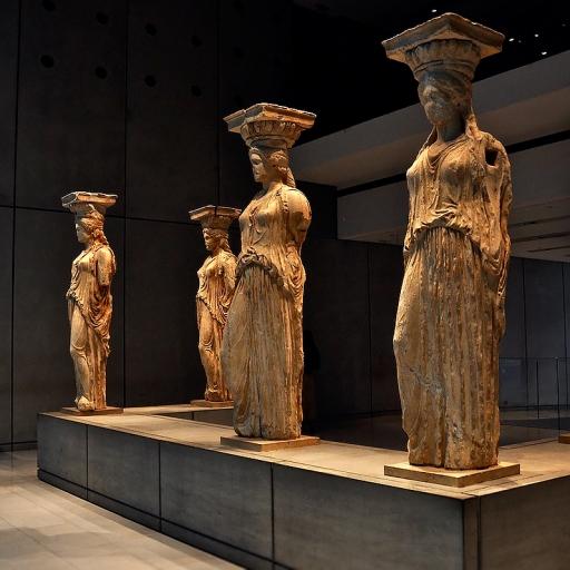 Старый музей Акрополя в Афинах