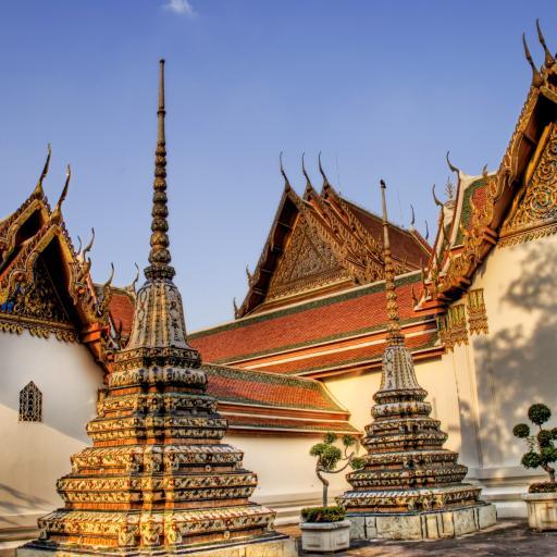 Травяная сауна и храм Wat Pho