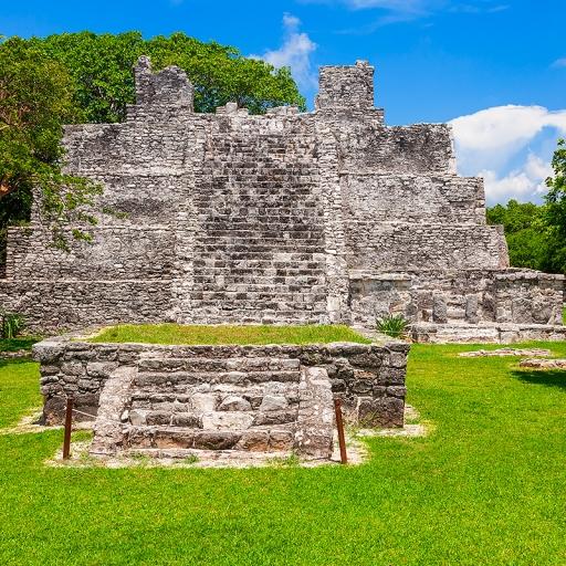 Древний город майя Эль-Меко