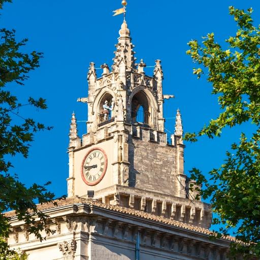 Площадь Часов и башня Жакмар