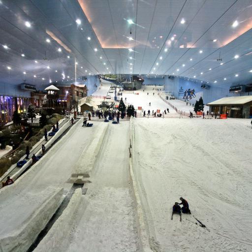 Эмирейтс Молл и горнолыжный комплекс «Ски Дубай»