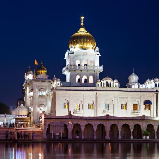 Храм сикхов Бангла Сахиб