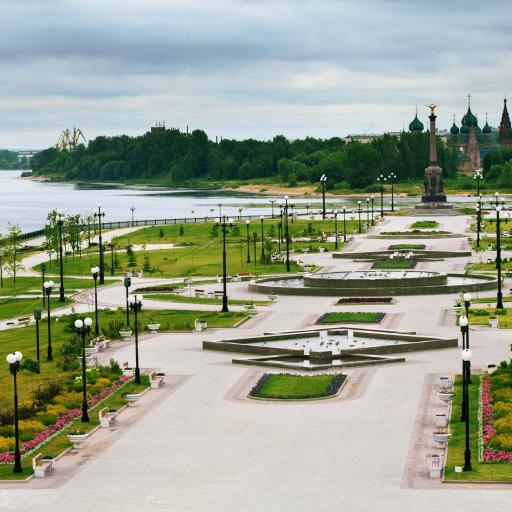 Парк на Стрелке