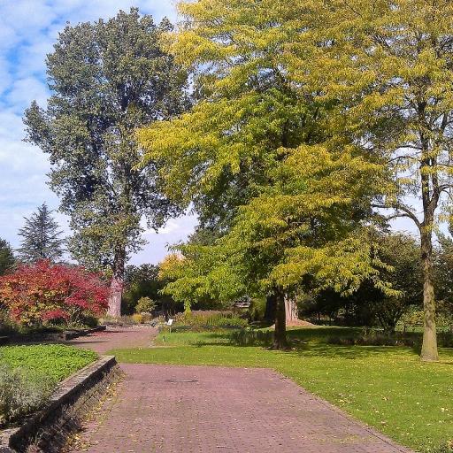 Ботанический сад Дюссельдорфа