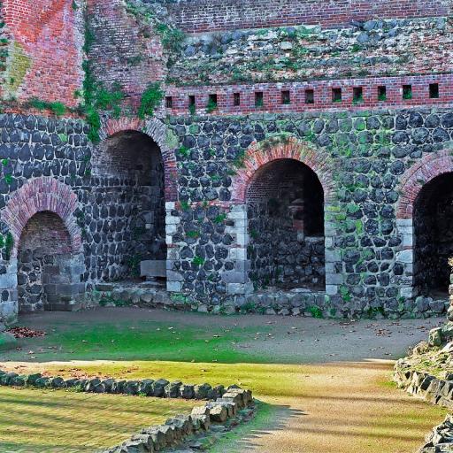 Руины Императорского дворца Кайзерсверт