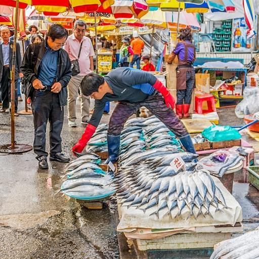 Рынок морепродуктов Чагальчхи