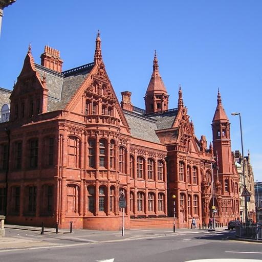 Здание Викторианских судов