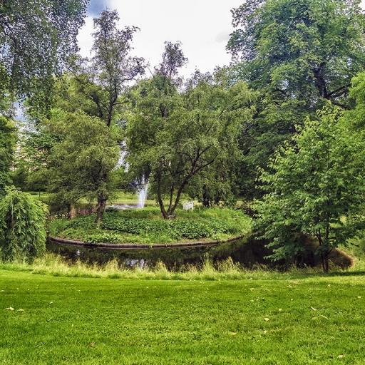 Дворцовый парк и дворец Slottsparken