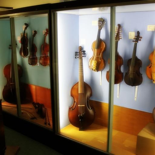 Коллекция музыкальных инструментов Бэйта