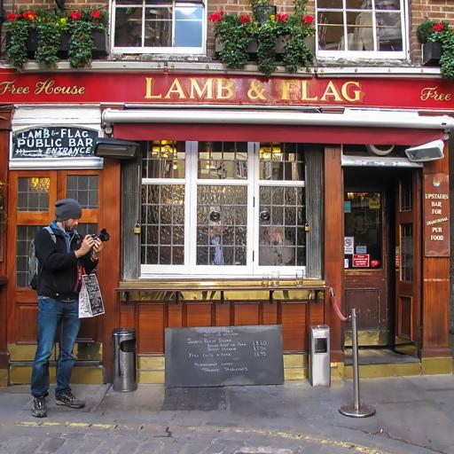 Паб Lamb & Flag