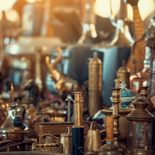 Антикварный рынок Де Лоир