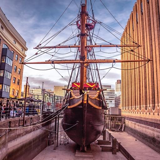 Корабль-музей «Золотая лань»