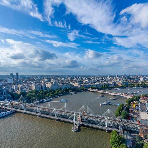 Мост Хангерфорд и мосты Золотого Юбилея