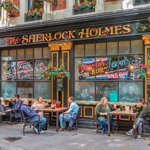 Ресторан-паб «Шерлок Холмс»