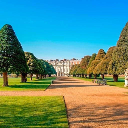 Сад дворца Хэмптон-корт
