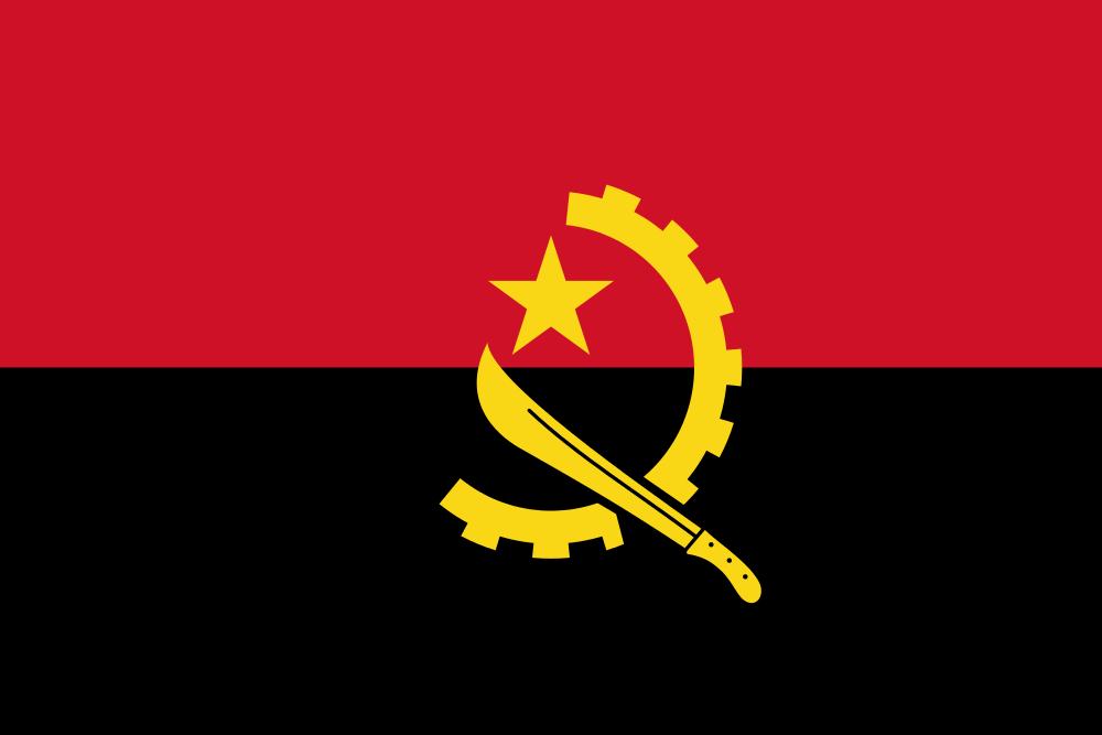 Флаг: Ангола
