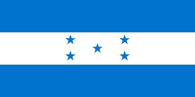 Флаг: Гондурас
