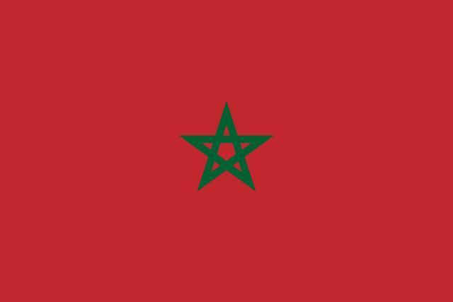Флаг: Марокко