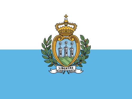 Флаг: Сан-Марино