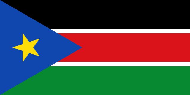 Флаг: Южный Судан