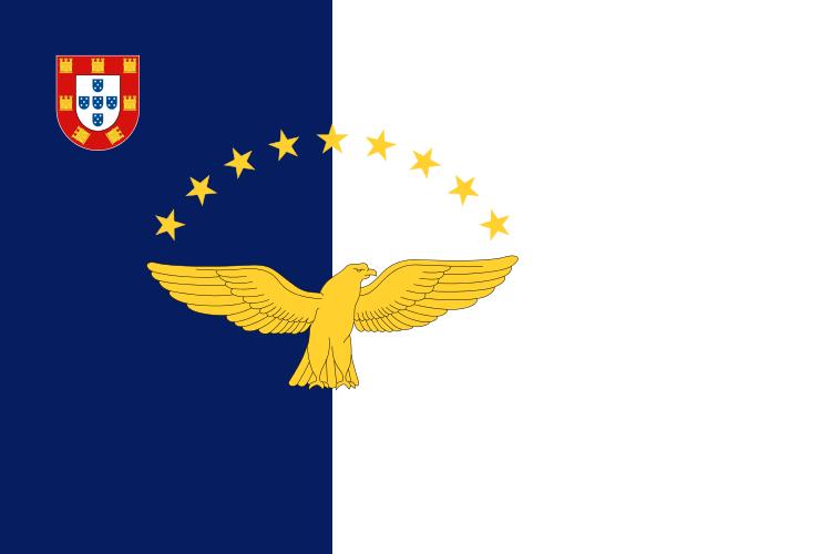 Флаг: Азорские острова