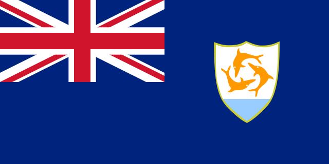 Флаг: Ангилья