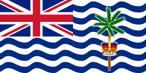 Флаг: Британская территория в Индийском океане