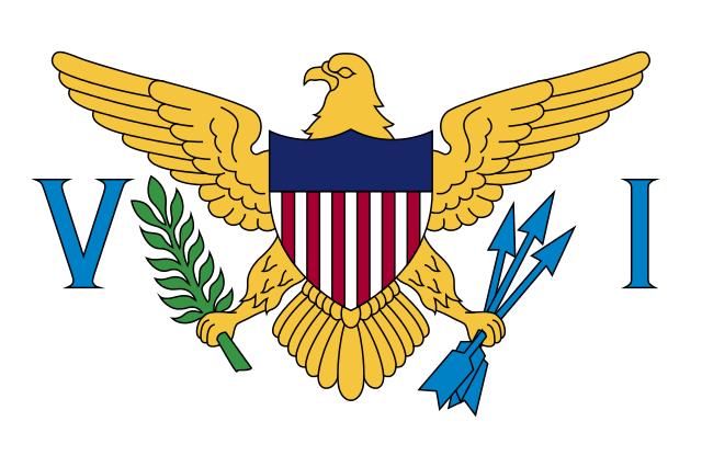 Флаг: Виргинские острова США